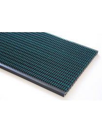 Rollable mat MATADOR S4, nylon brushes in symmetrical position from ROSCO stained surface