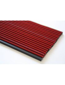 Rollable mat MATADOR L4, surface in luxurious version with ROSCO colored nylon brushes