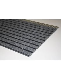 Doormat VARIO JUNIOR JNGO, lacquered aluminium frame covered with fibres from ROSCO polypropylene
