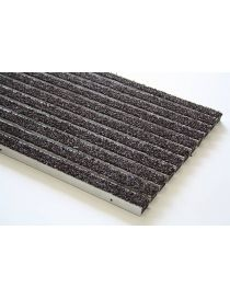 Doormat VARIO PGO, lacquered aluminium frame covered with fibres from ROSCO polyamide
