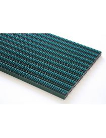Doormat VARIO BGO, lacquered aluminium frame covered with brushes in coloured nylon from ROSCO
