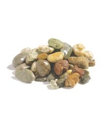 Gravel rolled for visual appearance, filtration, cover flat roofs at Pierre & soil