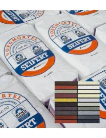 Colored and waterproof grouting mortar - Seifert