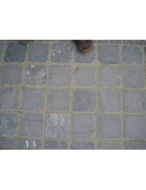 Pavement stone blue of the Viet Nam aged 5 cm