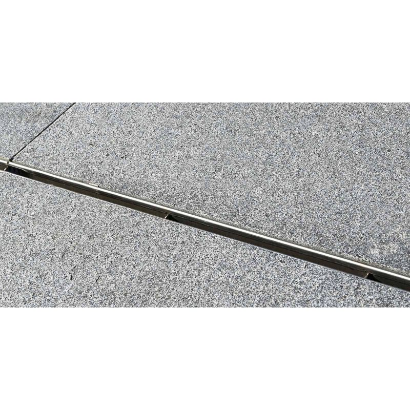 Gutter Euroline 60 Discreet 40 Stainless Steel From Aco
