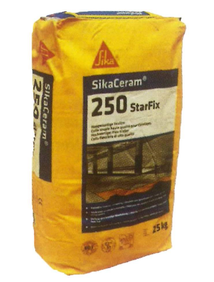SikaCeram-250 StarFix - Deformable mortar for vitrified ceramic tiles - Sika