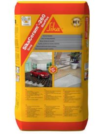 SikaCeram-260 StarFlex-mortar adhesive for variable use - SIKA