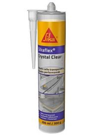 Sikaflex Crystal Clear - Mastic-colle de montage transparente - SIKA