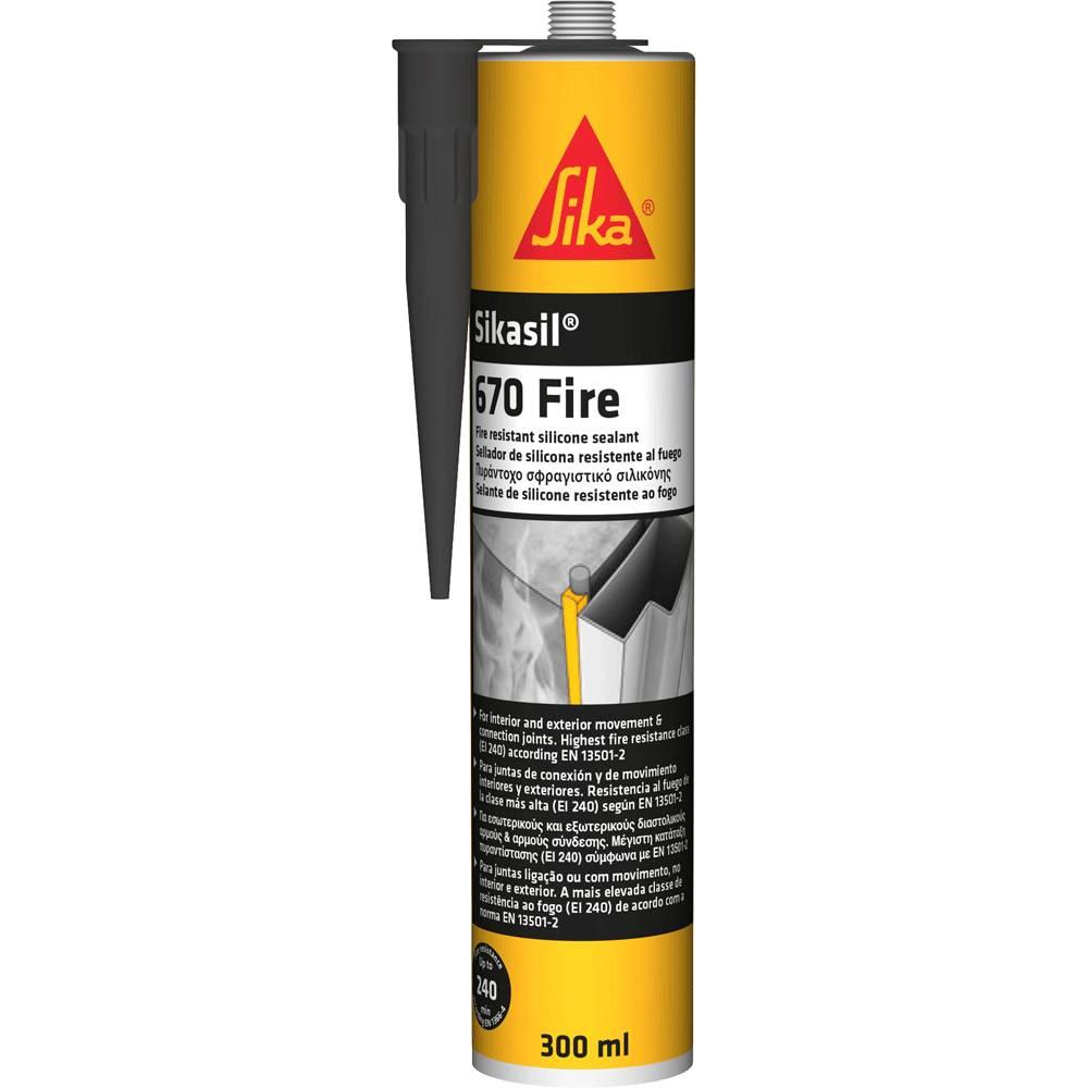 Sikasil 670 Fire   Mastic De Jointoiement Silicone Coupe Feu   SIKA    Pierre U0026 Sol