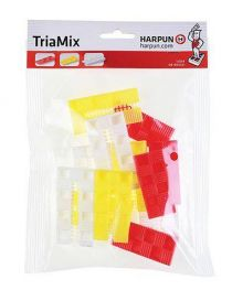 Shims notched - Assortment of 12 pieces in blister