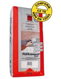 Flexcement® Plus - Colle flexible pour carrelages - PTB Compaktuna
