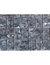 Mosaic in granite gray