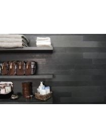 Slat wall Oriental Basalt softened