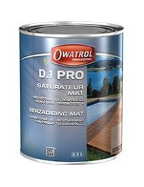 D.1 Pro - Saturator for exotic woods - Owatrol Pro
