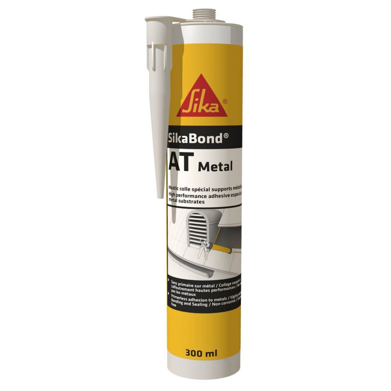 SikaBond AT-Metal - Elastic glue for bonding metals - Sika
