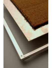 Frame mat aluminium with removable bottom - Alutrap COP - Rosco