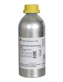 Sika appertaining-205 - proponent of adherence to non-porous media - Sika