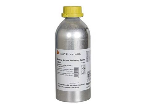 Sika Aktivator-205 - Adhesion promoter for non-porous surfaces - Sika