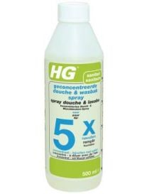 Spray shower and sink for 5 x fill 500 ml - HG