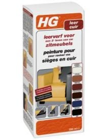 Paint for leather seats - HG