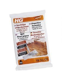 Wet wipes for floors oiled and waxed - HG