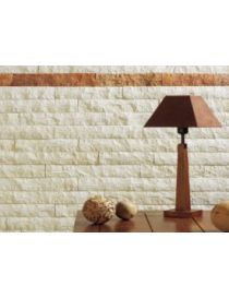 Slat wall Antalya cleaved Cream