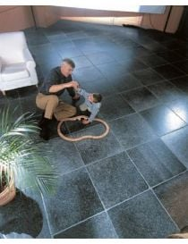 Realization in Belgian blue stone Enostyl® dark