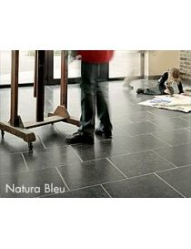 Realization from Natura blue Belgian blue stone