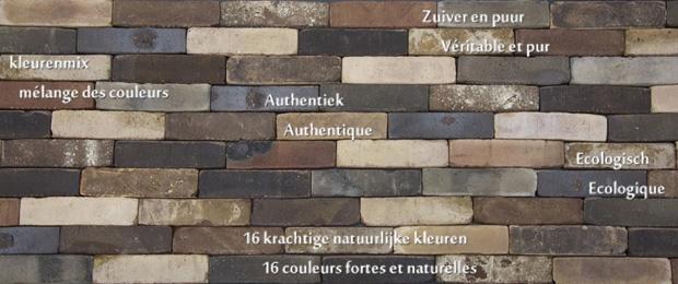 Brick slips - Nature