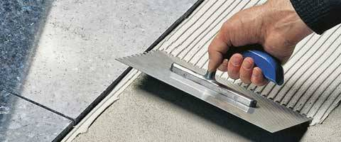 Mortar and adhesive for tiles and terrace