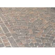 Pavers in porphyry