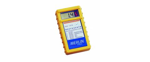Hygrometer for building materials