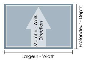 pack paillasson et cadre sur mesure hauteur standard 26 mm. Black Bedroom Furniture Sets. Home Design Ideas