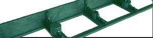 Bordure Nidaborder PE Polyethylene vert et clous