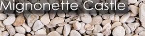 sac gravier blanc rose champagne rond mignonette castle rock 8/12
