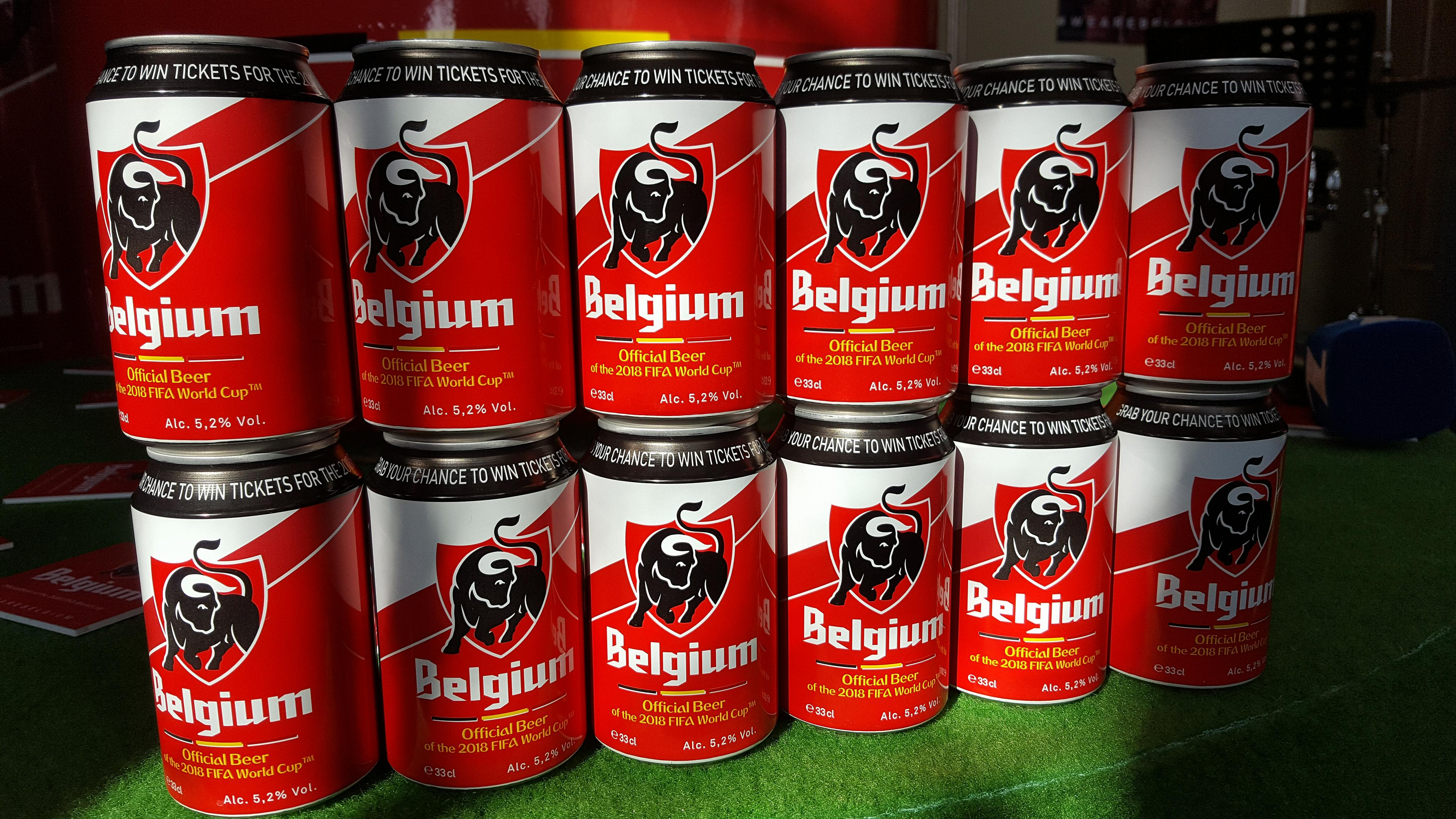 La boissons des supporters :-)